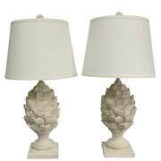 Urbanest Artichoke 24'' Table Lamp Set (Set of 2)