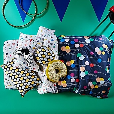 Sugar & Tots Up Up and Away Reversible Duvet Cover