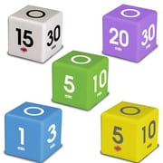 Datexx 5 Piece Cube Timer Set