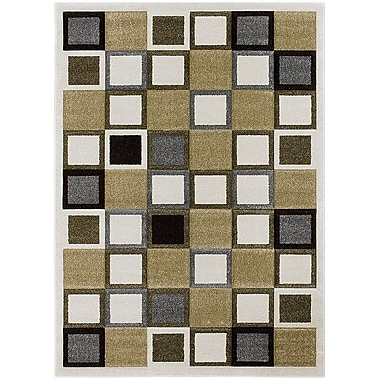 AllStar Rugs Ivory Area Rug; Rectangle 5'2'' x 7'2''
