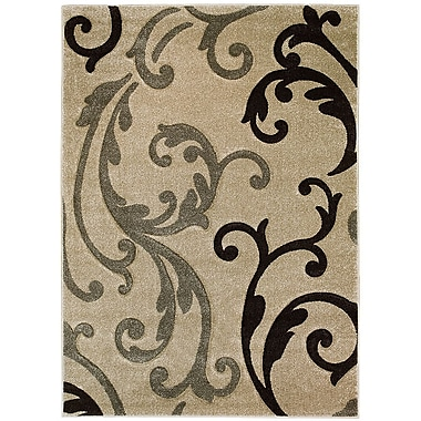 AllStar Rugs Brown Area Rug; Rectangle 5'2'' x 7'2''