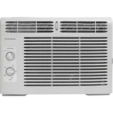 Frigidaire 5,000 BTU 115V Window-Mounted Mini-Compact Air Conditioner with Mechanical Controls (FFRA0511R1)