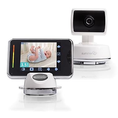 Summer Infant – Moniteur vidéo couleur numérique Baby Touch®, (02003Z)