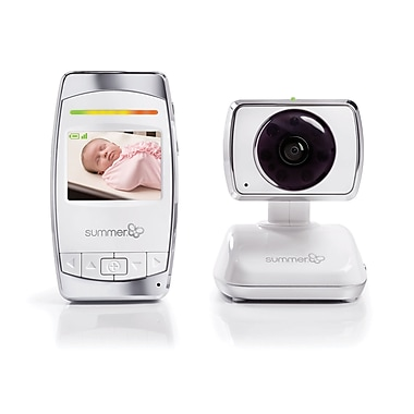 Summer Infant Baby Secure Pan/Scan/Zoom Video Baby Monitor, (29253)
