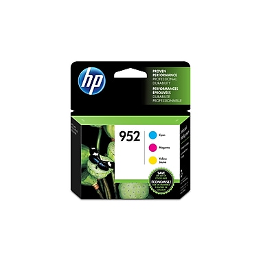 HP 952 Cyan, Magenta & Yellow Original Ink Cartridges, 3/Pack (N9K27AN)
