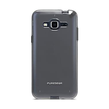 Puregear – Étui Slim Shell Pro pour Galaxy J3, transparent/noir, (61516PG)