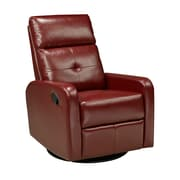 Brassex 657-RD Rocker/Recliner with Swivel