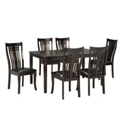 Brassex 995-17 Fairmont 7-Piece Kitchen Set, Espresso