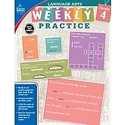 Carson Dellosa Language Arts Workbook, Grade 4