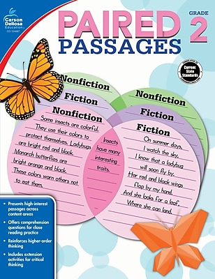 Paired Passages, Grade 2 Workbook (104887)
