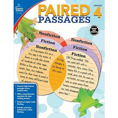 Carson-Dellosa Paired Passages, Grade 4 Workbook (104889)