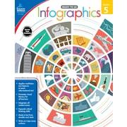 Infographics, Grade 5 Workbook (104897)