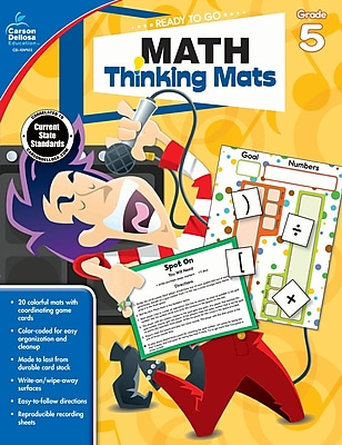 Math Thinking Mats, Grade 5 Resource Book (104903)