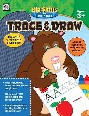 Thinking Kids Trace & Draw Workbook, Grades Preschool - K