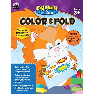 Color & Fold, Grades Preschool - K Workbook (704914)