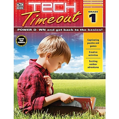 Carson-Dellosa Tech Timeout, Grade 1 Activity Book (704921)