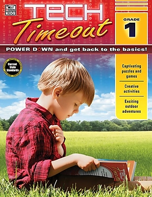 Thinking Kids Tech Timeout Activity Book, Grade 1