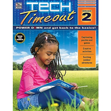 Carson-Dellosa Tech Timeout, Grade 2 Activity Book (704922)
