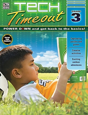 Thinking Kids Tech Timeout Activity Book, Grade 3