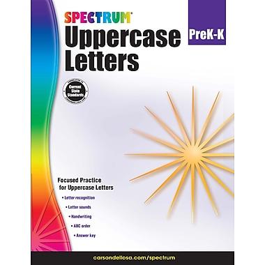 Carson-Dellosa Uppercase Letters, Grade Pre-K-K Workbook (704970)