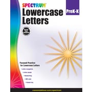 Spectrum Lowercase Letters Workbook, Grades Pre-K - K