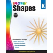 Spectrum Shapes Workbook, Grade K