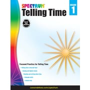 Telling Time, Grade 1 Workbook (704980)