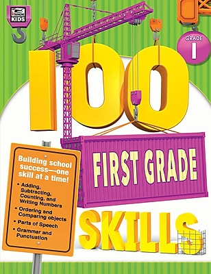 Thinking Kids 100 First Grade Skills Workbook