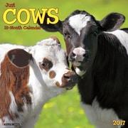 """Willow Creek Press 2017 Just Cows Wall Calendar 12""""H x 12""""W (40769)"""