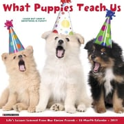 "Willow Creek Press 2017 What Puppies Teach Us Wall Calendar 12""H x 12""W (42282)"