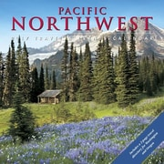 "Willow Creek Press 2017 Pacific Northwest Wall Calendar 12""H x 12""W (43173)"