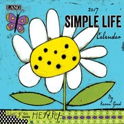 LANG Simple Life 2017 Mini Wall Calendar (17991079245)