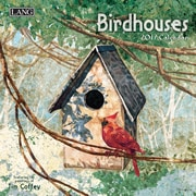 LANG Birdhouses 2017 Mini Wall Calendar (17991079249)