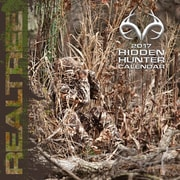 TURNER LICENSING RealTree Hidden Hunter 2017 7x7 Mini Wall Calendar (17998040594)