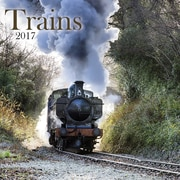 TURNER PHOTO Trains 2017 Photo Wall Calendar (17998940056)