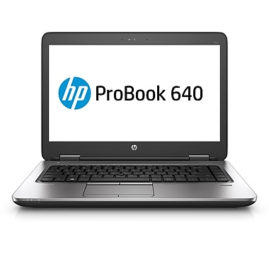 HP-Portatif ProBook 640 G2 14po, Intel Core i5-6200U 2,3GHz, RAM 4Go, SATA 500 Go, Windows 10 Pro 64 (V1P72UT#ABA)