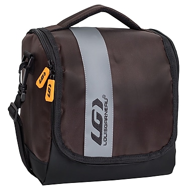 Louis Garneau Extreme Lunch Box with Large Opening, Brown and Grey (E16303bn)