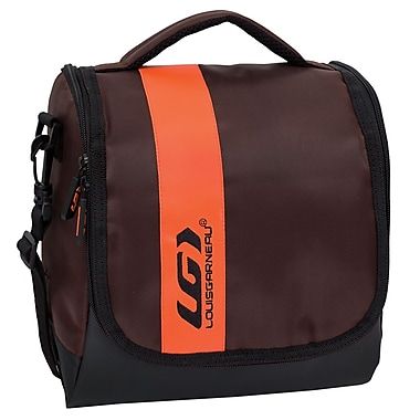 Louis Garneau Extreme Lunch Box with Large Opening, Brown and Orange (E16303or)