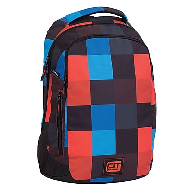 Offtrack Backpack, Blue, Red and Black (F16128be)