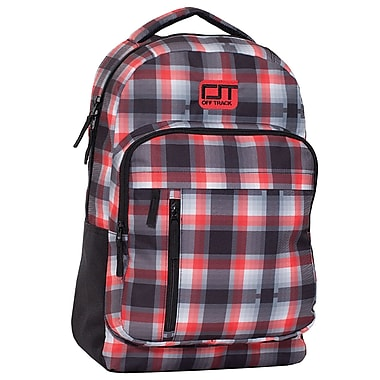 Offtrack Backpack, Red, Black and White (F16129bk)