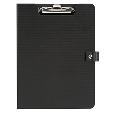 Staples® Vinyl Pad Holder, Black