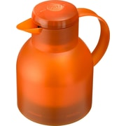 Frieling Emsa by Frieling Samba Quick Press 4 Cup Carafe; Translucent Orange