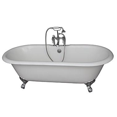 Barclay 67'' x 31'' Soaking Bathtub Kit; Chrome
