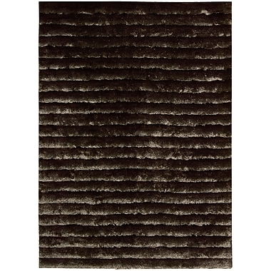 Nourison Urban Safari Hand-Tufted Mahogany Area Rug; 3'6'' x 5'6''