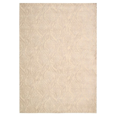 Kathy Ireland Home Gallery Hollywood Shimmer Beige Area Rug; Rectangle 3'9'' x 5'9''