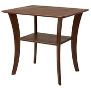 Manchester Wood Contemporary End Table; Chestnut
