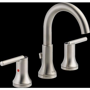 Delta Trinsic Bathroom Standard Faucet Lever Handle Bathroom Faucet w/ Drain Assembly