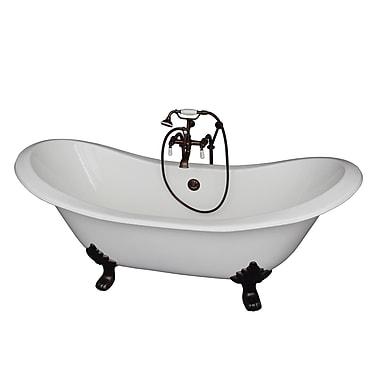 Barclay 71'' x 30.5'' Soaking Bathtub Kit; Oil Rubbed Bronze
