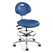 BEVCO Everlast Drafting Chair; Blue
