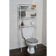 Evideco 23.7'' W x 59.6'' H Over The Toilet Storage